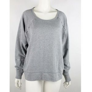 Gap Women's Pullover Sweater Size M Solid Gray